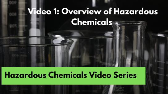 1. Overview of Hazardous Chemicals