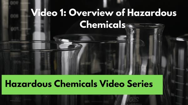 1. Overview of Hazardous Chemicals