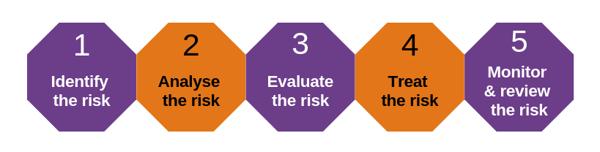 5 steps for risk mgmt