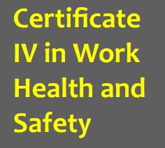Cert IV in Work Health and Safety