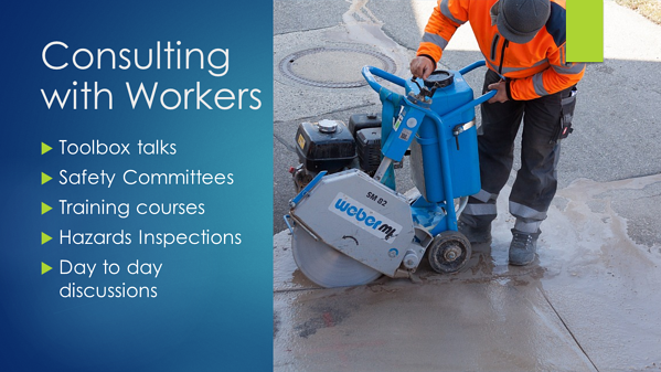 WHS Consultation - Workers