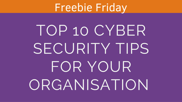top 10 tips for cyber security